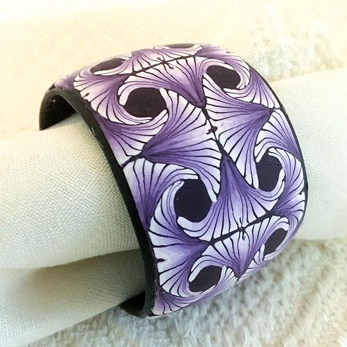 Purple Paradox Cane Bracelet