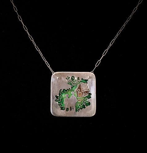 Into The Forest Pendant