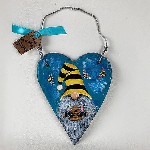 Bee Safe Gnome Slate