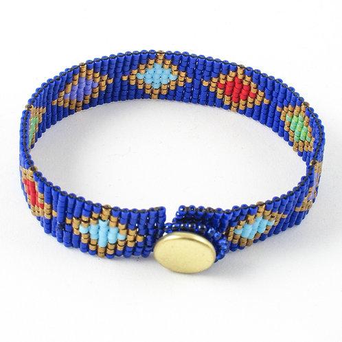 Slinky Diamond Beaded Bracelet