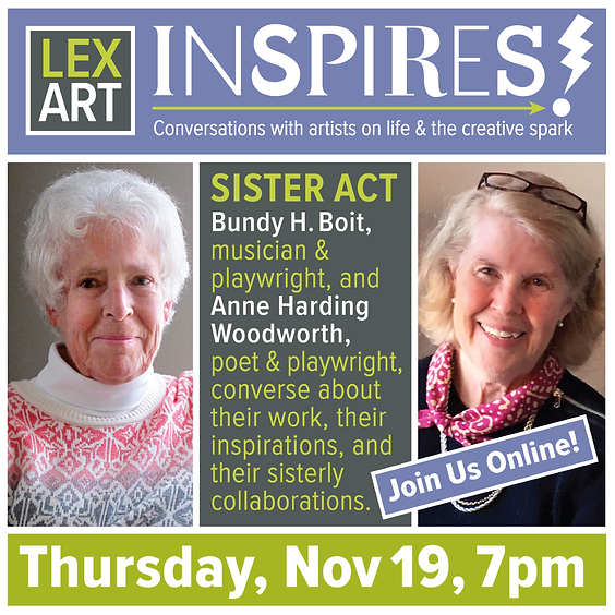 LexArt Inspires! with Bundy Boit and Anne Woodworth