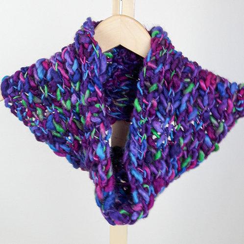 Shades of Purple Circular Cowl