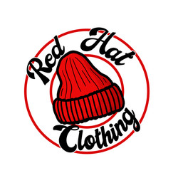 Red Hat Clothing m- Official Logo