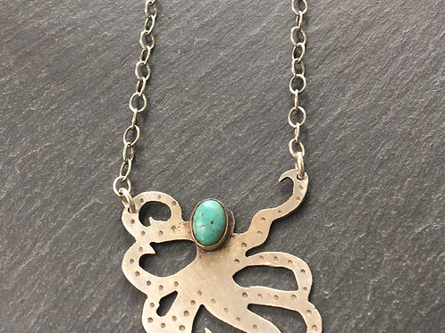 Octopus with turquoise