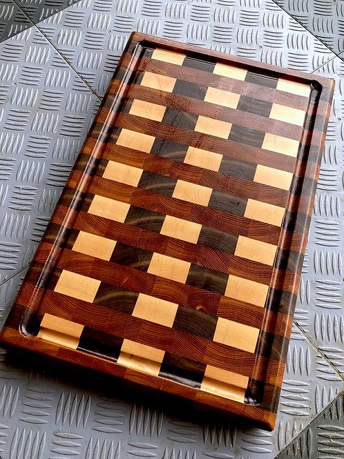 Slakteblokk flermønstret