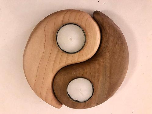 Telys stake, ying and yang