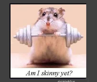 Covid weight loss challenge #18  You can't work off those double cheeseburgers at the gym!