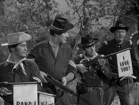 The tv comedy that blew up the Wild West myths