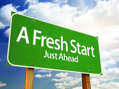 Post-Covid- The ultimate fresh start