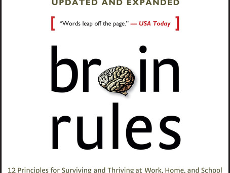 Covid Mental Health Challenge #30- Brain Rules