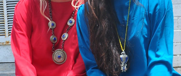Antique Afghani Medallion Custom Necklaces