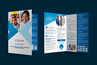 Projet EXCELIAM cover (design réalisé pa