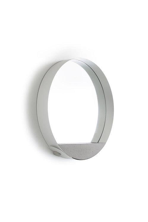 Loop Mirror white | gray base