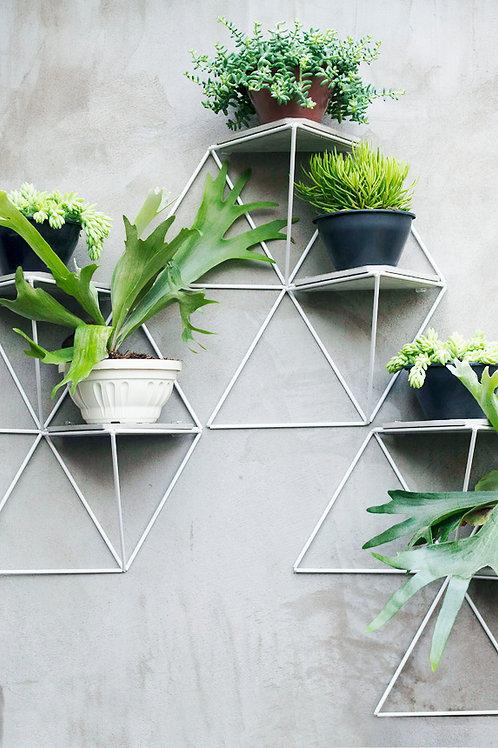Kit with 3 Garden Modules white | gray base