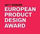 2017 winner, European Product Design Award
