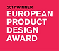 2017 winner, European Product Design Award