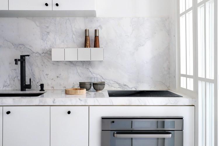 Cozinha com Prateleira Block