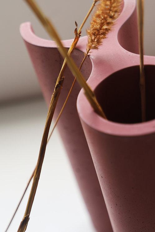 Crayon Vase | carmine