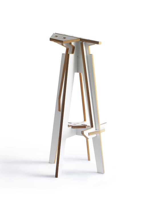 Up! Stool white