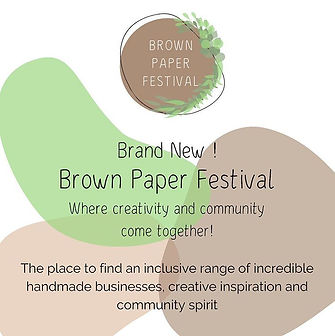 Brown paper festival - 17th october and