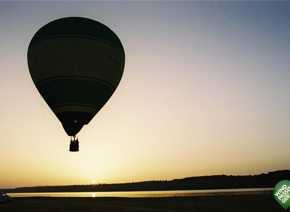 Balão Ar Quente - Nascer do Sol