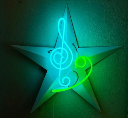 Music in the Night Sky