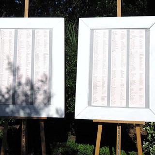 Cadres Bois laqués blanc