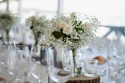 Centre de table thème champêtre Provence