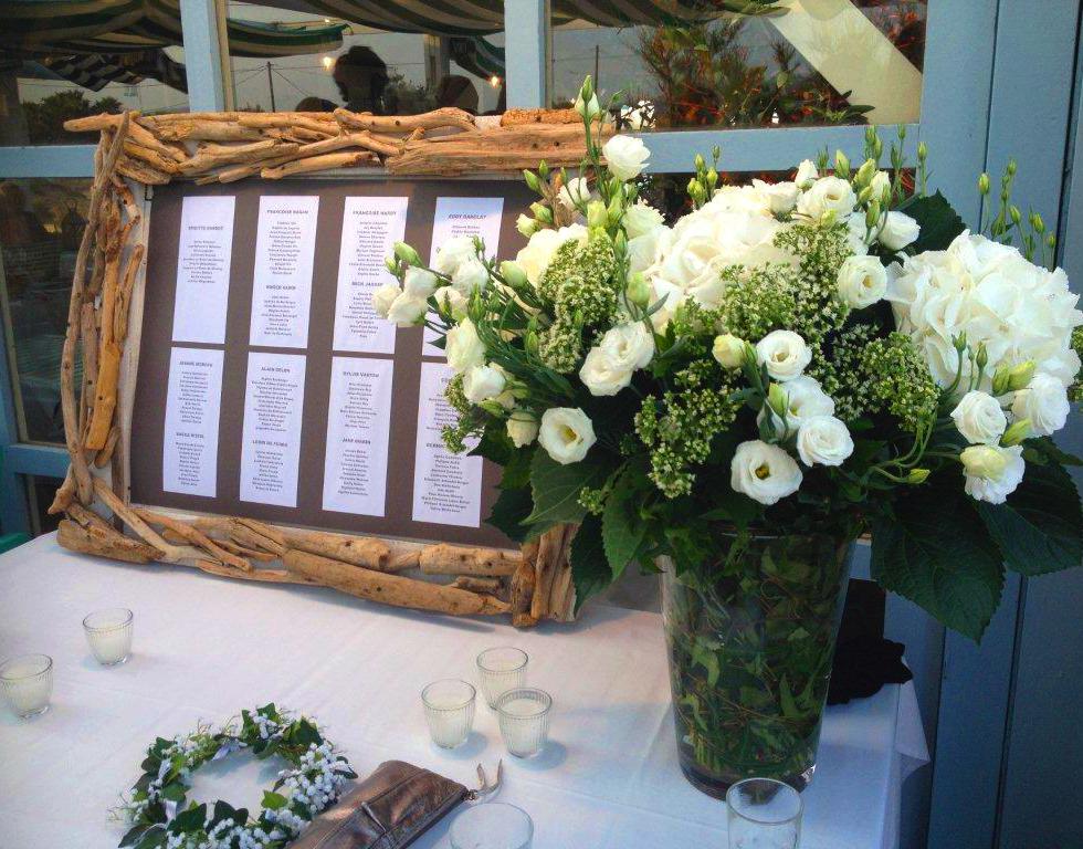 Signaletique plan de table mariage