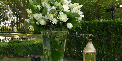 Composition florale pour Cocktail