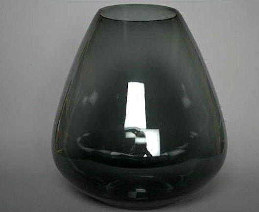 Vase Oeuf fumé gris