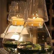 Vase Oeuf transparent