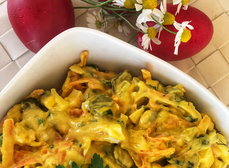 Egg Salad with Easter Eggs