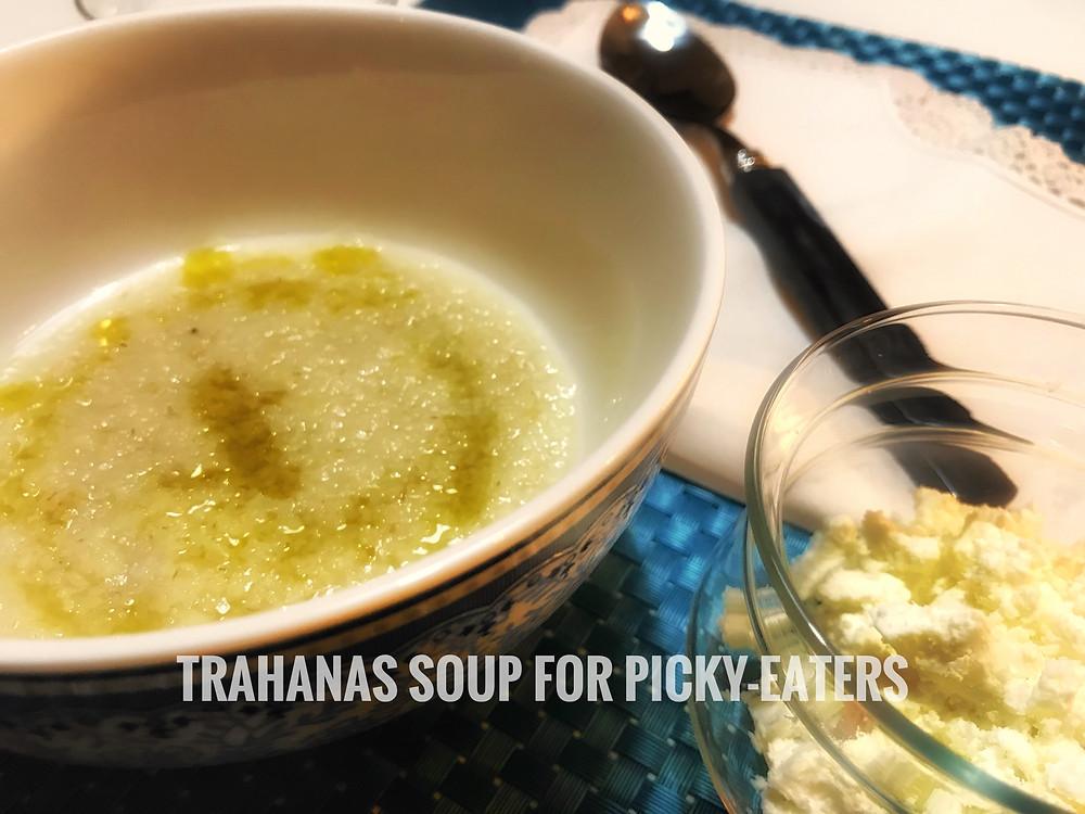 How to make trahanas soup, greek traditional trahanas