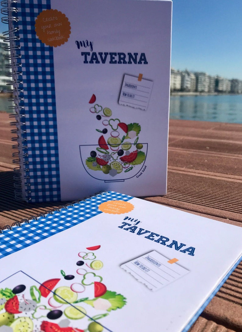 My Taverna Recipe Journal
