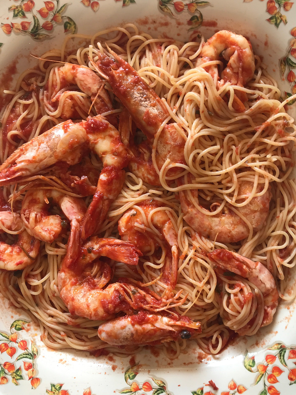 how to make shrimp spaghetti with fresh tomato sauce