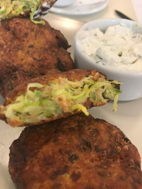 Greek Zucchini Fritters (aka kolokythokeftedes)