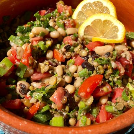 Mixed Legumes Salad
