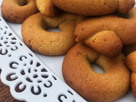 Olive Oil cookies with an orange flavor