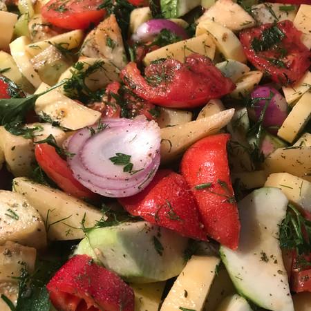 Greek Roasted Vegetables (Briam)