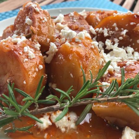 The Greek Potato Stew (Yiachni)