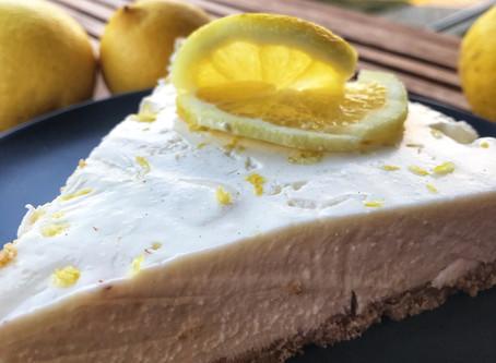 Greek Yogurt Lemon Cheesecake