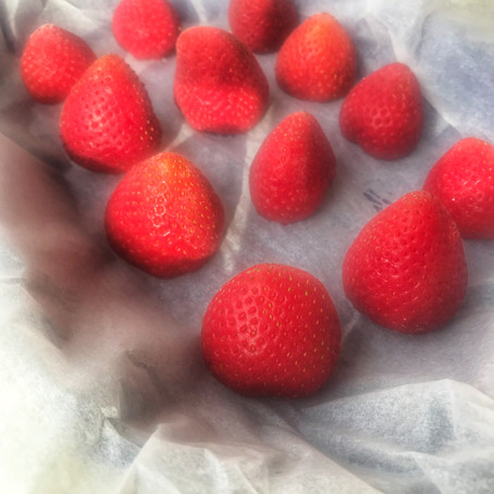How to freeze fresh strawberries