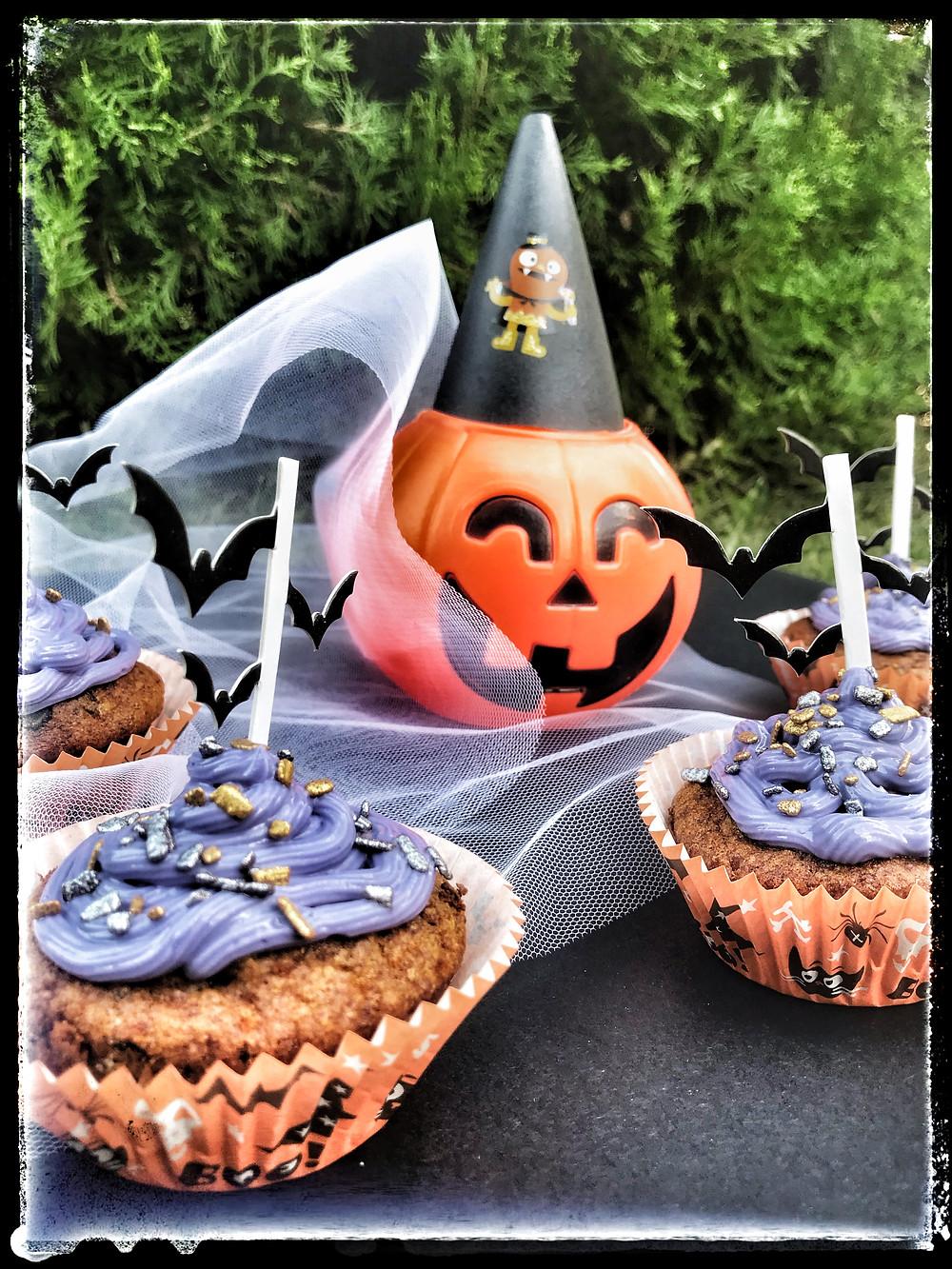 How to make no sugar halloween cupcakes