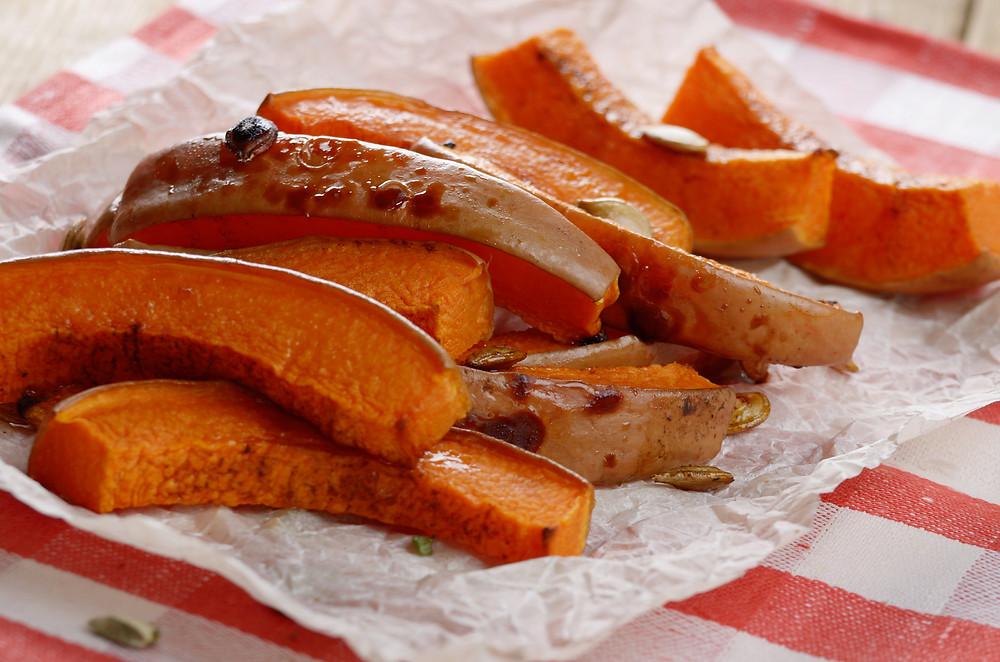 how to excess moisture from a pumpkin