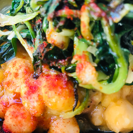 One Pot Chickpea and Spinach