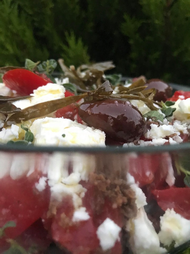how to make cretan salad