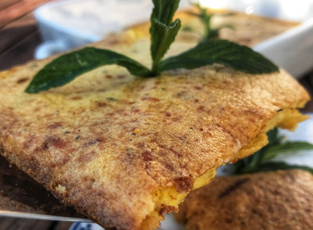 Quick cheese pie without filo pastry