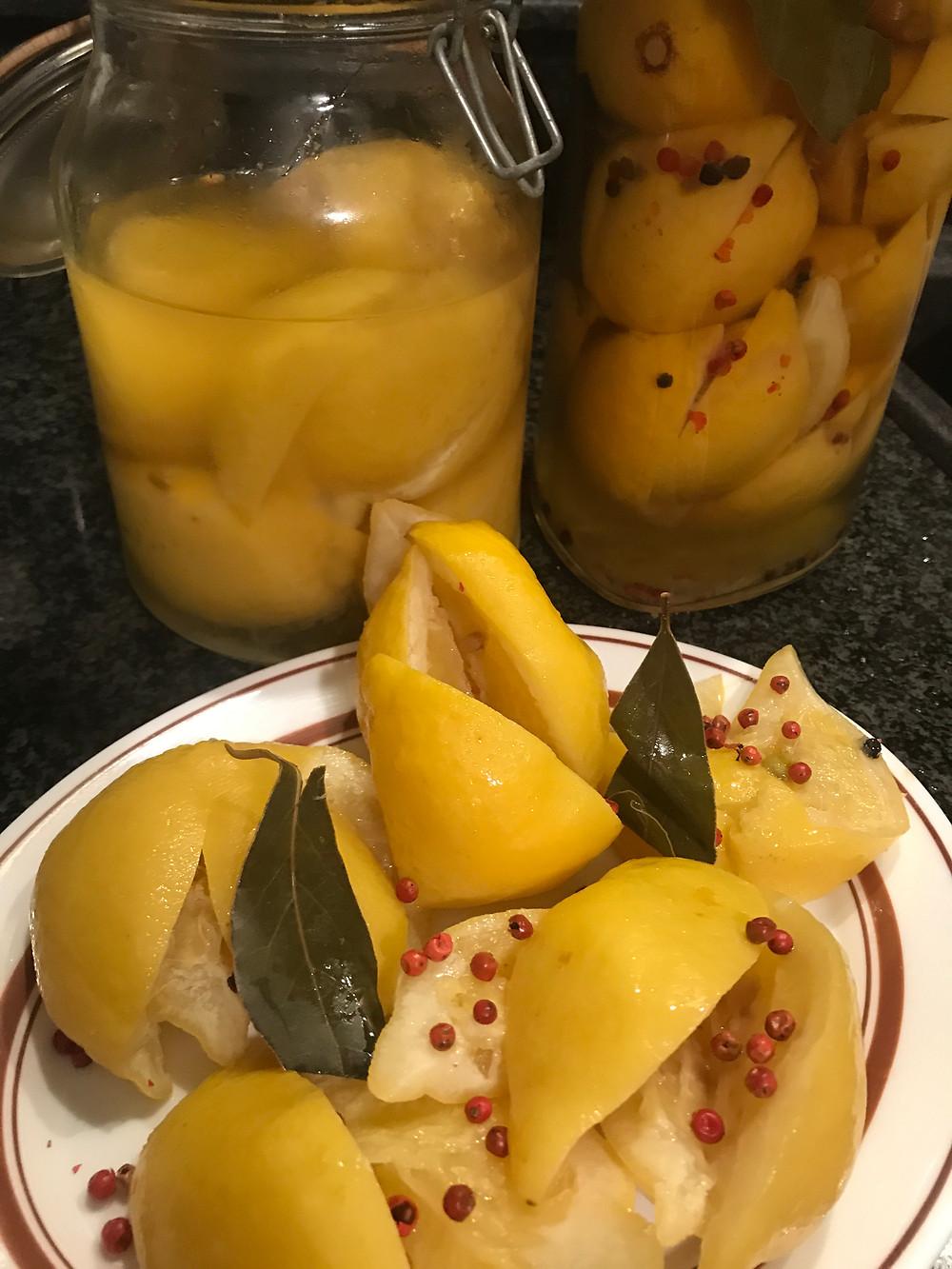 lemons in brine or how to make pickled lemons