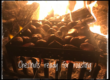 Roasting Chestnuts at your fireplace or the oven – THE SECRET